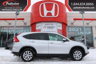 Used 2016 Honda CR-V EX - BLIND SPOT CAMERA POWER LIFT GATE - for sale in Sudbury, ON