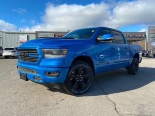 New 2021 RAM 1500 Sport | SPORT HOOD | HEATED SEATS | TRAILER BRAKE for sale in Listowel, ON