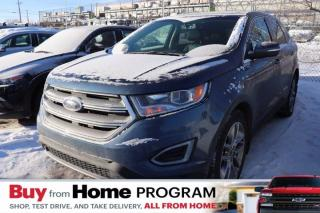 Used 2018 Ford Edge Titanium - AWD, V6, Leather, Sunroof, Navigation for sale in Saskatoon, SK