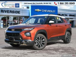 Used 2021 Chevrolet TrailBlazer ACTIV for sale in Brockville, ON