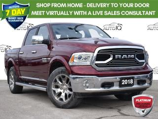 Used 2018 RAM 1500 Longhorn 1 owner trade for sale in St. Thomas, ON