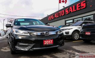 Used 2017 Honda Accord Touring|ACCIDENT FREE|BACKUP CAM|SUNROOF\REMOTE ST for sale in Brampton, ON