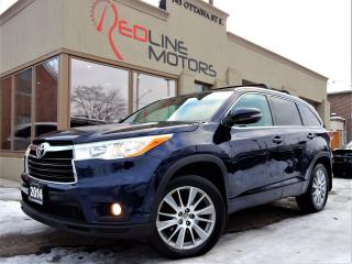 Used 2014 Toyota Highlander XLE AWD.Navigation.Camera.Leather.Roof.8Passenger for sale in Kitchener, ON