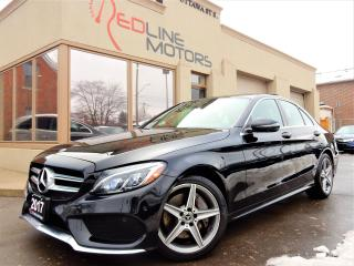 Used 2017 Mercedes-Benz C300 4Matic.AMG Pkg.Navi.Cam.PanoRoof.OneOwner.Warranty for sale in Kitchener, ON
