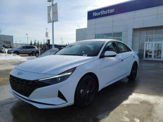 New 2021 Hyundai Elantra Hybrid PREFERRED HYBRID: WIRELESS APPLE CARPLAY/BLUELINK/SAFETY PKG/HEATED SEATS for sale in Edmonton, AB
