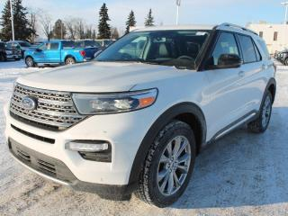 New 2021 Ford Explorer 301A 4wd | 2.3L Eco Boost | Heated & Cooled Seats | Heated 2nd Row Seats | Fwd & Reverse Sensing System | Heated Steering Wheel | Lane Keeping System | Voice Activated Navigation | Wireless Charging P for sale in Edmonton, AB