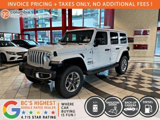 New 2021 Jeep Wrangler Sahara ECO Diesel for sale in Richmond, BC