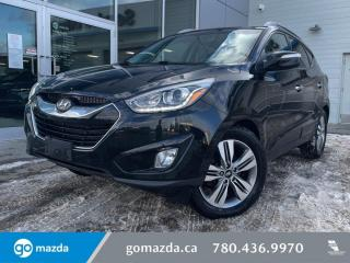 Used 2015 Hyundai Tucson LIMITED - AWD, LEATHER, HEATED SEATS, NAV, BACK UP for sale in Edmonton, AB