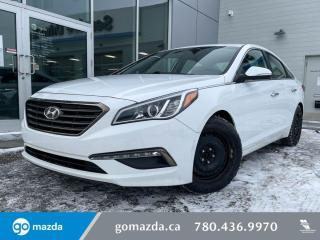 Used 2016 Hyundai Sonata GLS - BACK UP, SUNROOF, CLOTH, BLUETOOTH, HEATED SEATS AND MORE! for sale in Edmonton, AB