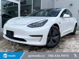 Used 2019 Tesla Model 3 STANDARD MOTOR - LEATHER, STANDARD RANGE, LARGE SCREEN, TO MANY FEATURES! DON'T MISS OUT! for sale in Edmonton, AB