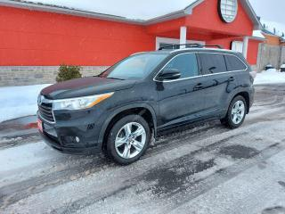 Used 2016 Toyota Highlander LIMITED  for sale in Cornwall, ON