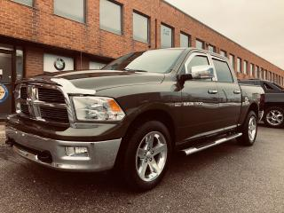 Used 2012 RAM 1500 SLT BIG HORN CREW CAB for sale in Mississauga, ON