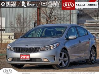 Used 2018 Kia Forte LX+   Android Auto   Heated Seat   7'Display for sale in St Catharines, ON