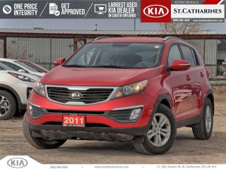 Used 2011 Kia Sportage LX | Heated Seat | Cruise | Bluetooth for sale in St Catharines, ON