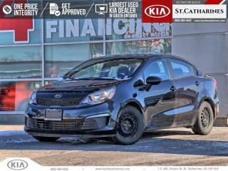 Used 2016 Kia Rio LX+ | Bluetooth | Cruise | Power Options for sale in St Catharines, ON