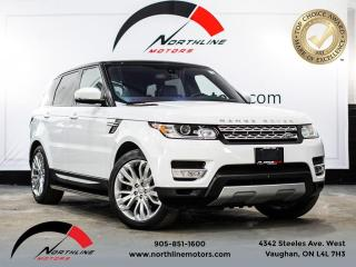 Used 2016 Land Rover Range Rover Sport Td6 HSE/Navigation/Pano Roof/Camera for sale in Vaughan, ON