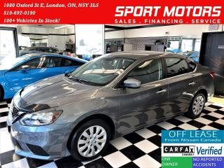 Used 2017 Nissan Sentra SV+Camera+Heated Seats+Push Start+ACCIDENT FREE for sale in London, ON
