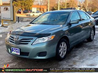 Used 2011 Toyota Camry LE|LOW KM|NO ACCIDENT|BLUETOOTH|CERTIFIED for sale in Oakville, ON