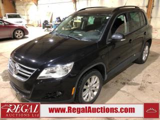 Used 2010 Volkswagen Tiguan 4D Utility 4MOTION AWD for sale in Calgary, AB