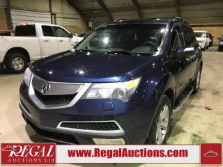 Used 2012 Acura MDX 4D Utility AWD for sale in Calgary, AB