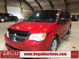 Used 2013 Dodge Grand Caravan SE 4D SPORTS VAN for sale in Calgary, AB