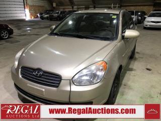 Used 2008 Hyundai Accent 4D Sedan for sale in Calgary, AB