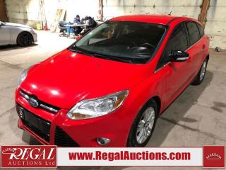 Used 2012 Ford Focus SEL 4D Hatchback for sale in Calgary, AB