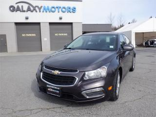 Used 2015 Chevrolet Cruze 1LT-BLUETOOTH, AUTO HEADLIGHTS, BACK-UP CAMERA for sale in Duncan, BC