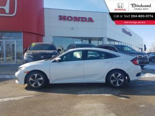 Used 2019 Honda Civic LX Heated Seats - Bluetooth - Apple CarPlay - Android Auto for sale in Winnipeg, MB