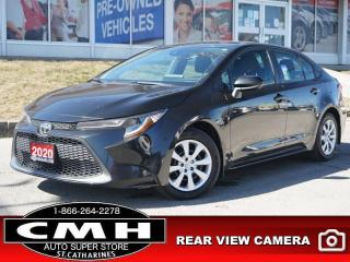 Used 2020 Toyota Corolla LE  CAM LANE-DEP BLIND-SPOT COL-WARN for sale in St. Catharines, ON
