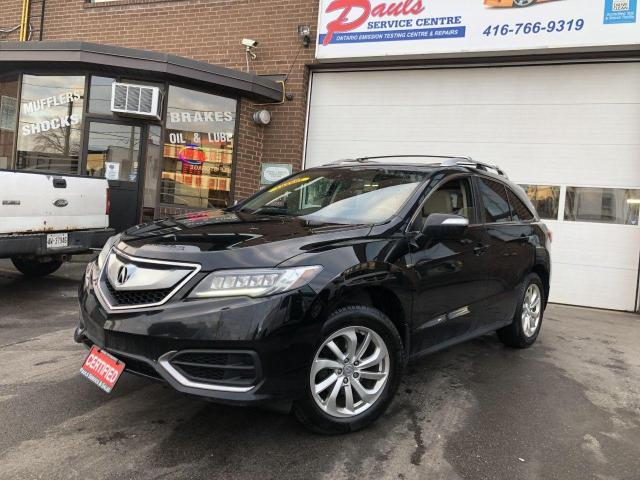 2017 Acura RDX TECH PACKAGE-FULLY LOADED*CERTIFIED*