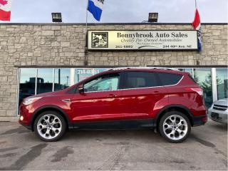 Used 2013 Ford Escape Titanium/4X4/Leather/Navigation/Backup camera/ for sale in Calgary, AB