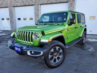 Used 2019 Jeep Wrangler Unlimited Sahara for sale in Sarnia, ON