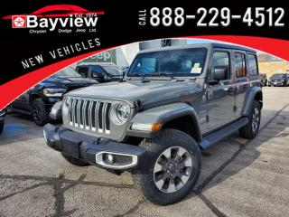 New 2021 Jeep Wrangler Unlimited Sahara for sale in Sarnia, ON