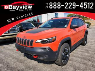 New 2021 Jeep Cherokee Trailhawk for sale in Sarnia, ON