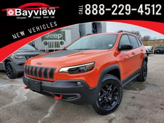 New 2021 Jeep Cherokee Trailhawk Elite for sale in Sarnia, ON