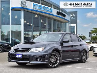 Used 2012 Subaru Impreza WRX WRX w/Limited Pkg FINANCE AVAILABLE| NO ACCIDENTS| for sale in Mississauga, ON