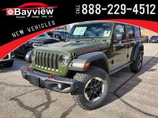New 2021 Jeep Wrangler Unlimited Rubicon for sale in Sarnia, ON