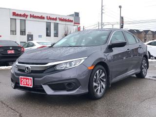 Used 2018 Honda Civic Sedan EX  - Sunroof - Lane Watch - Rear camera - LOW KMS for sale in Mississauga, ON