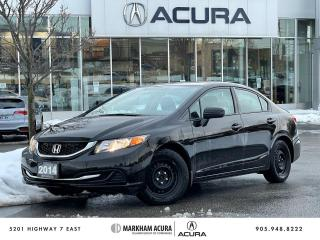Used 2014 Honda Civic EX CVT SEDAN for sale in Markham, ON