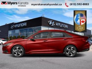 New 2021 Hyundai Elantra Essential IVT  - $137 B/W for sale in Kanata, ON