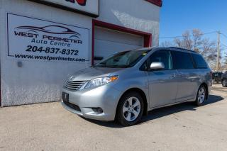 Used 2017 Toyota Sienna LE 8-Pass * Power Sliding Doors* for sale in Winnipeg, MB