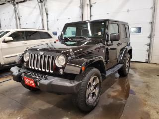 Used 2016 Jeep Wrangler Sahara for sale in Sarnia, ON