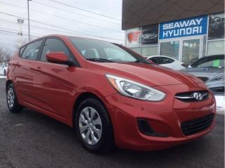 Used 2016 Hyundai Accent GL Auto - Local Trade - Heated Seats for sale in Cornwall, ON