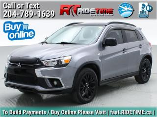 Used 2018 Mitsubishi RVR SE Anniversary Edition for sale in Winnipeg, MB