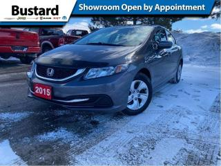 Used 2015 Honda Civic Sedan 4dr Man LX | Heated Seats | Clean Carfax | Low KM for sale in Waterloo, ON