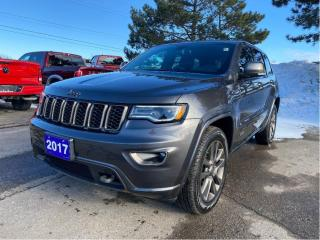 Used 2017 Jeep Grand Cherokee 4WD Limited 75th Anniversary | Pano | Navi for sale in Waterloo, ON