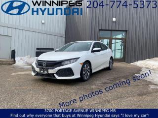 Used 2017 Honda Civic Hatchback LX for sale in Winnipeg, MB