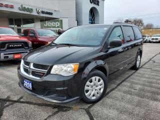 Used 2016 Dodge Grand Caravan SE/SXT for sale in Sarnia, ON