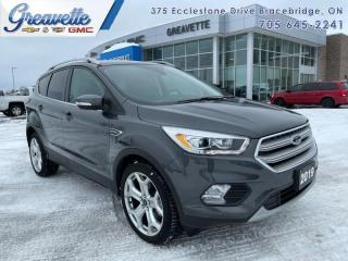 Used 2019 Ford Escape Titanium 4WD  - Navigation -  Leather Seats for sale in Bracebridge, ON
